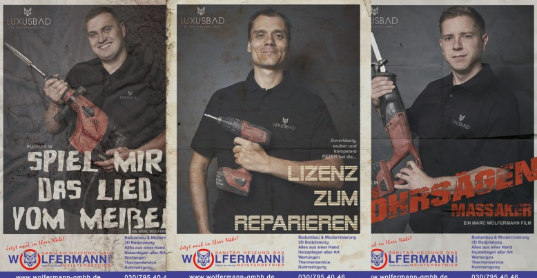Posterkampagne Wolfermann GmbH